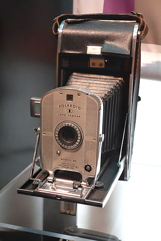 Land Camera Model 95 de Polaroid