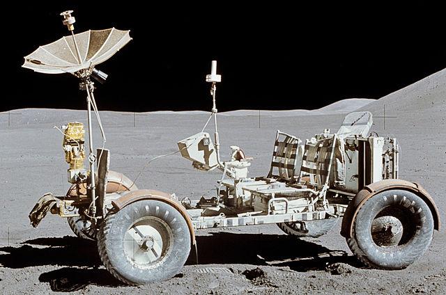 El Rover lunar del Apollo 15