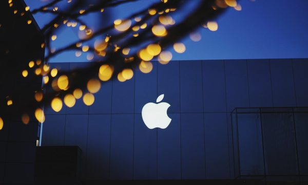 Logo Apple Noche
