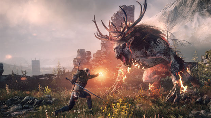 Captura del juego The Witcher 3