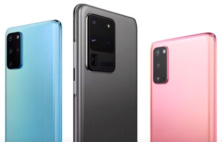 Colores Samsung Galaxy S20