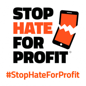 Logo Stop Hate for Profit