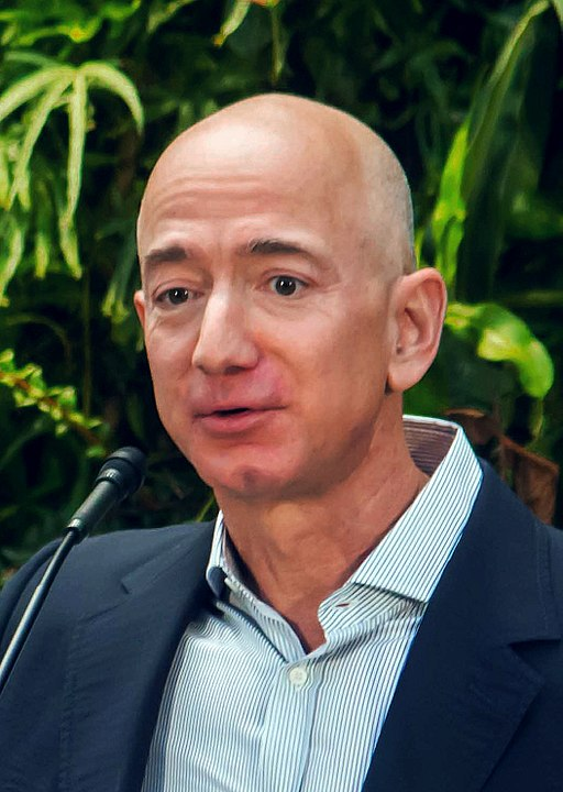 Fundador de Amazon Jeff Bezos